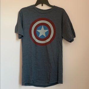 Captain America T Shirt